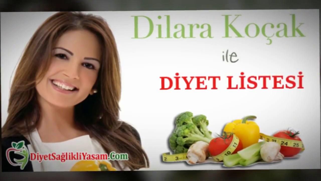 1 haftalık kalıcı ve sağlıklı diyet listesi
