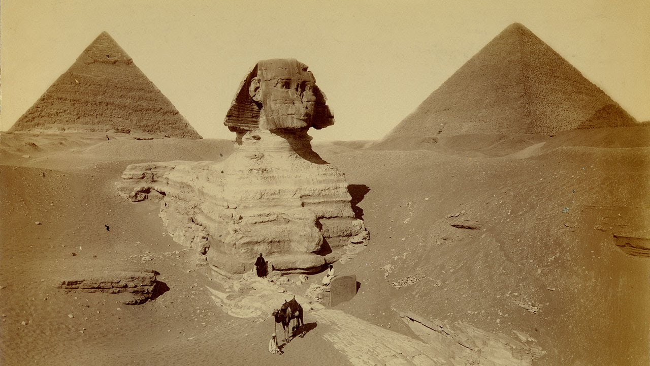 great wonders the great sphinx and the pyramids of giza youtube