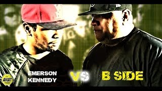 Battle Rap | Emerson Kennedy vs B Side | biggest rap battle in Utah history | AHAT
