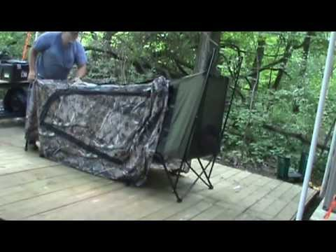 & Ozark trail tent cot part 1 - YouTube