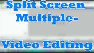 Split Screen Multiple Video editing Video PAD