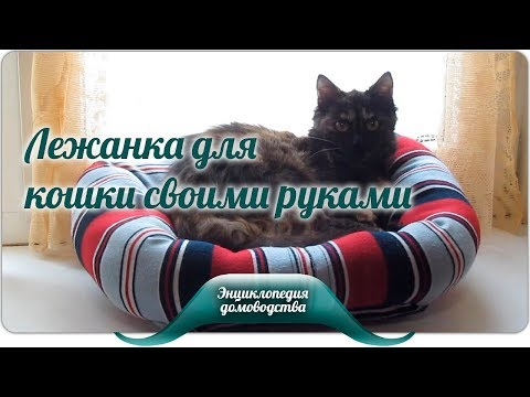 Как сшить из свитера лежанку для кошки