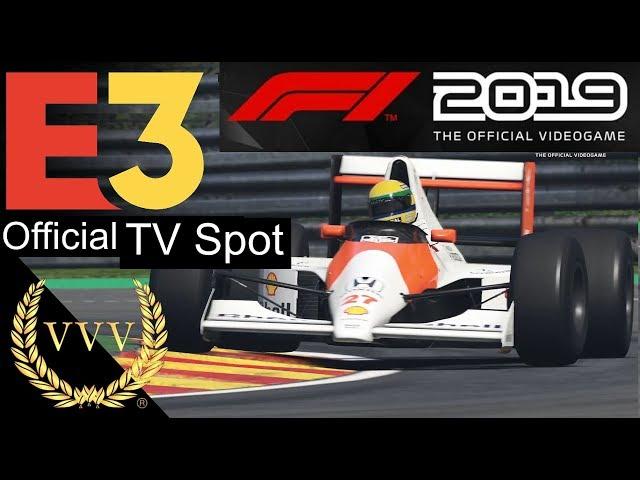F1 2019 - TV Spot E3 2019