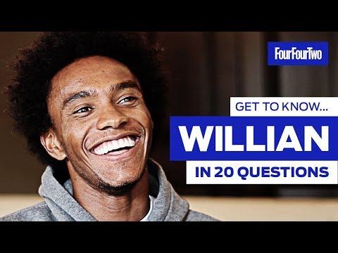 "Get To Know Willian In 20 Questions | ""I'd Like To Be A Horse!"""