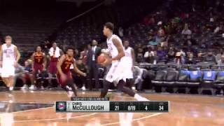 Chris McCullough Pulls Off NBA/NBA D-League Double Header