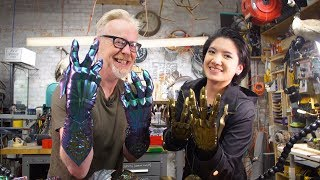 Adam Savage Wears Lumecluster
