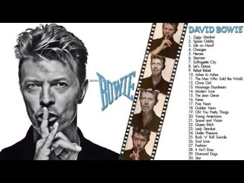 David Bowie Greatest Hits | The Best of David Bowie