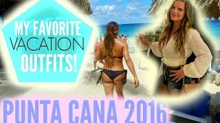 My FAVORITE Vacation Outfits! Punta Cana | Casey Holmes