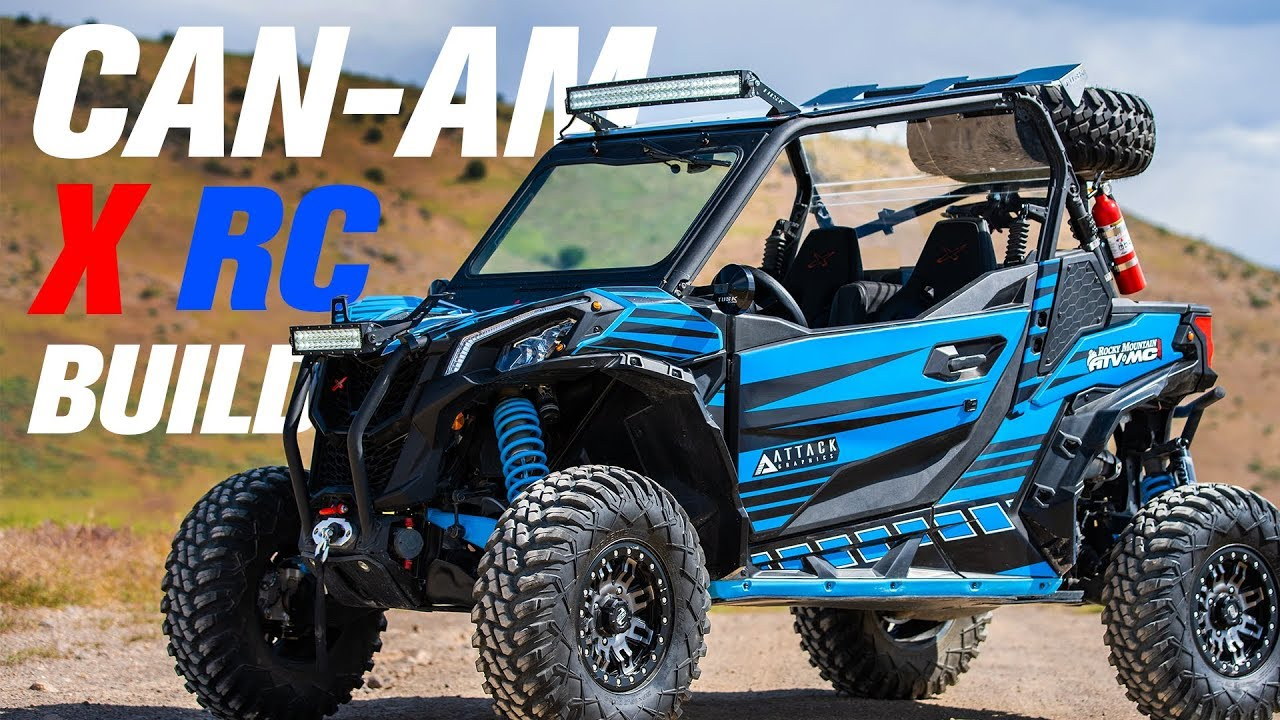 Can Am Maverick Sport 1000r X Rc Utv Build