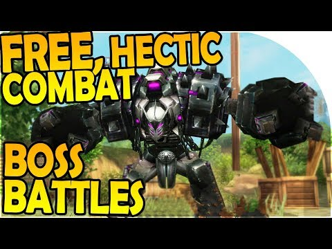 GREAT FREE GAME - WARRIOR + BOSS BATTLES + PURPLE LOOT - Kritika Online Gameplay