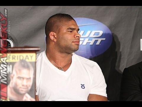 Alistair Overeem on Andrei Arlovski: He's Not Cool with Me at All