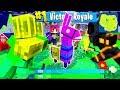 Das FORTNITE LOOT LAMA GEFUNDEN     Minecraft FORTNITE  BATTLE ROYALE
