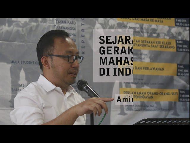 SEJARAH GERAKAN MAHASISWA DI INDONESIA