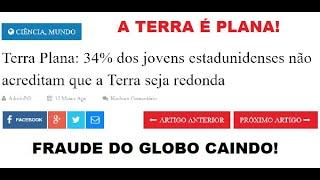Notícias do mundo plano! | Desespero do sistema! | Crescimento da Terra Plana!