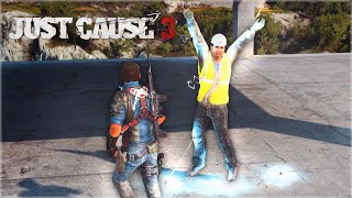 JUST CAUSE 3 FAILS: #3 (JC3 Funny Moments Compilation)