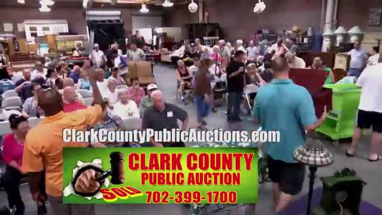 Clark County Public Auction-Las Vegas-Nevada Upcoming Sales
