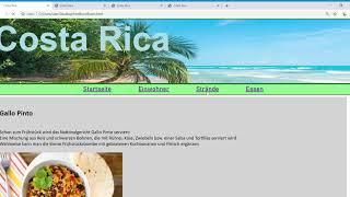 Costa Rica   HTML Seite Johanna2019