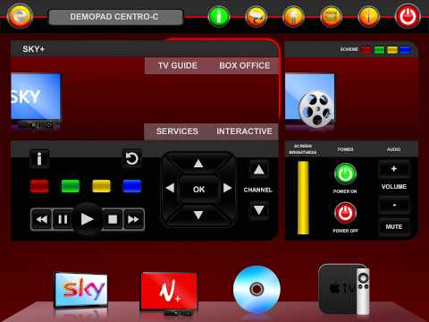 DemoPad Centro-C Auto Configuration App - no programming!