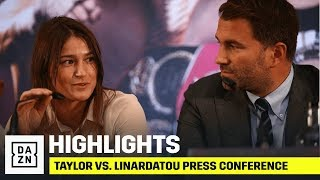 HIGHLIGHTS | Katie Taylor vs. Christina Linardatou Launch Press Conference