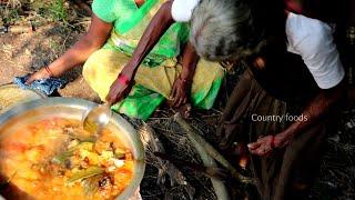 My Grandma Cooking Authentic Mutton Paya Recipe | Paya Recipe