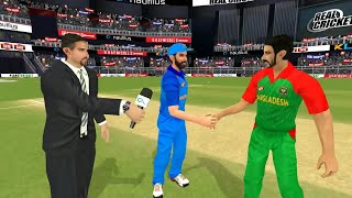 14th March Tri series 5th T20 Match Bangladesh Vs India Real Cricket 18 Gameplay