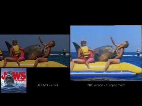 Jaws the Revenge Clips - DVD vs BBC cut