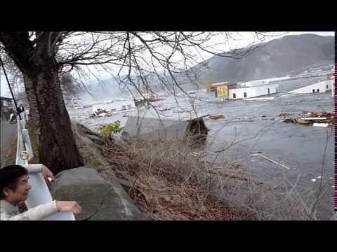 地震の発生から津波の到達まで(提供:一般社団法人大船渡津波伝承館)