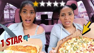 Eating at the WORST Reviewed Dominos Pizza Restaurant in THE BRONX (NY)