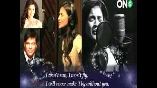 Without You (Cover w/ Lyrics)  - Anne Curtis & Martin Nievera