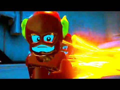The Flash & Reverse Flash vs Johnny Quick - LEGO DC Super Villains the flash