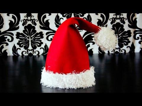 How to Make a Santa Hat