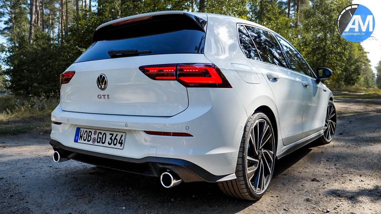 New Golf 8 Gti Pure Sound By Automann Youtube