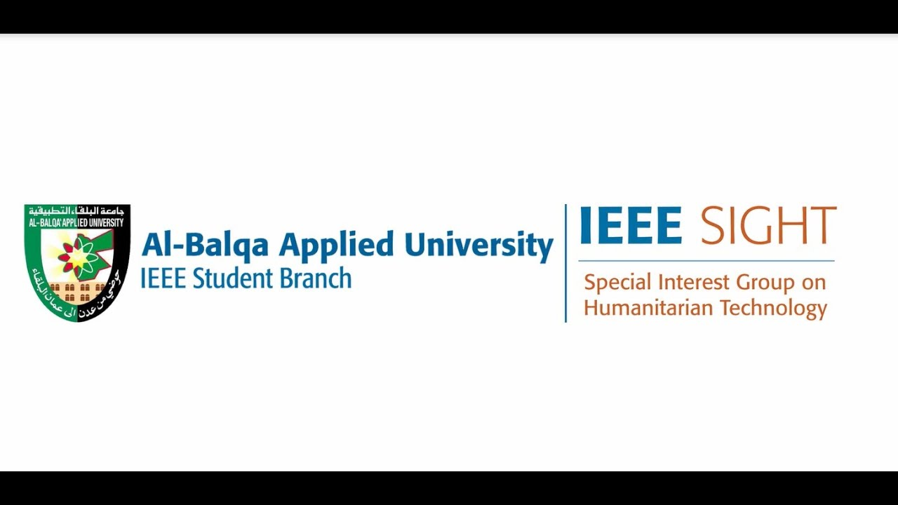 Download Share Your SIGHT Story - Al-Balqa Applied University SIGHT Group, IEEE Jordan Section
