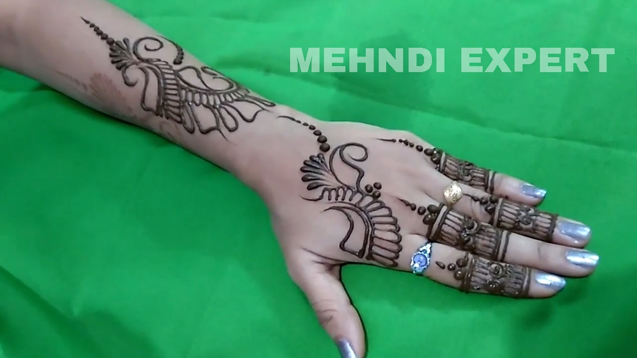 Mehndi design 2017 new style - New Modern Style Arabic Mehndi Or Henna Design For All Occasions 2017 Step By Step Tutorial 3