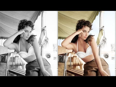 How To Colorize Black And White With Oshop
