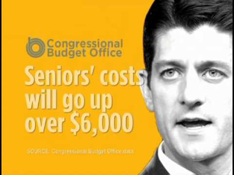 AUFC TV ad: Paul Ryan voted to end Medicare, Give the Rich Another Tax Break