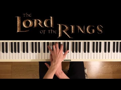 The Lord of the Rings theme - Piano Medley (+ sheets)