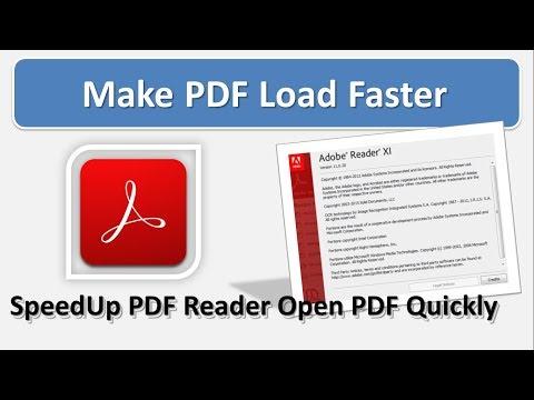 Speed Up Adobe Acrobat Reader loading | Best Solution For Adobe Reader