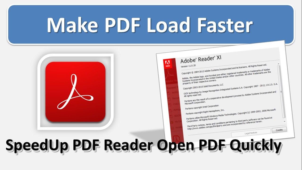 speed up adobe acrobat reader loading best solution for adobe