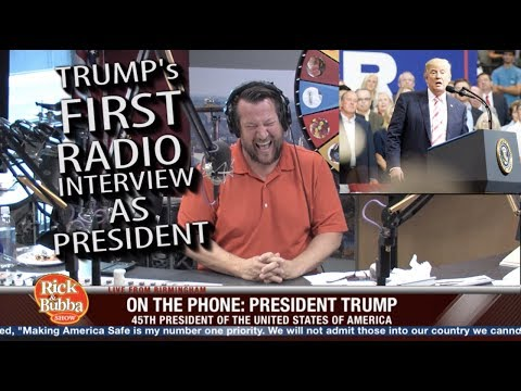 President TRUMP Calls The Show  |  Rick & Bubba Show  |  Sept. 25, 2017