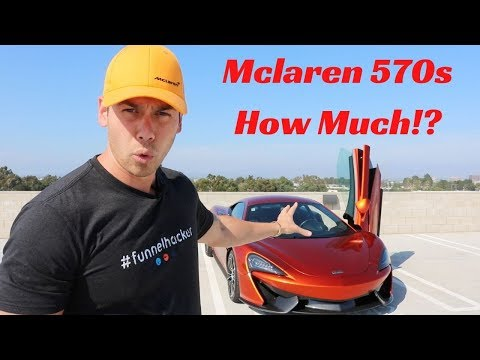 Mclaren 570s   How Much Does Is Cost To Own A SUPERCAR IN YOUR 20's?