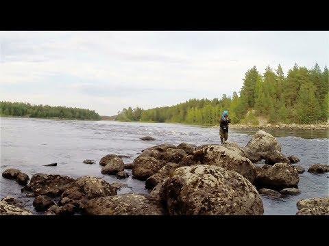 за ХАРИУСОМ . Рыбалка на  реке КЕМЬ . For GRAYLING