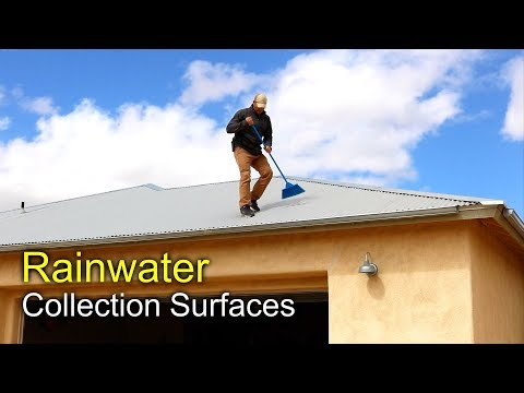 Rainwater Harvesting - Collection Surfaces