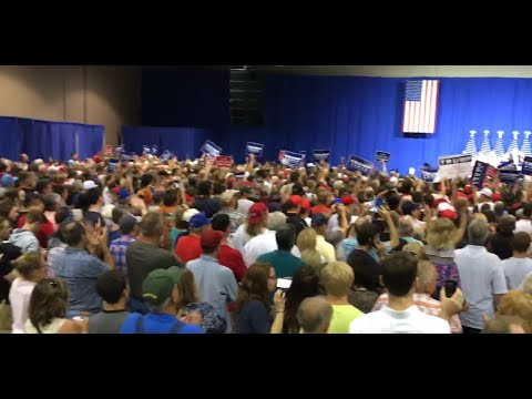 Donald Trump Rally in Wilmington, OH 9/1/16