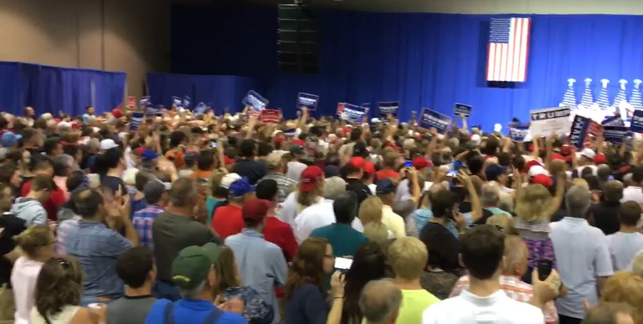 Donald trump rally in wilmington oh 9116 youtube publicscrutiny Image collections