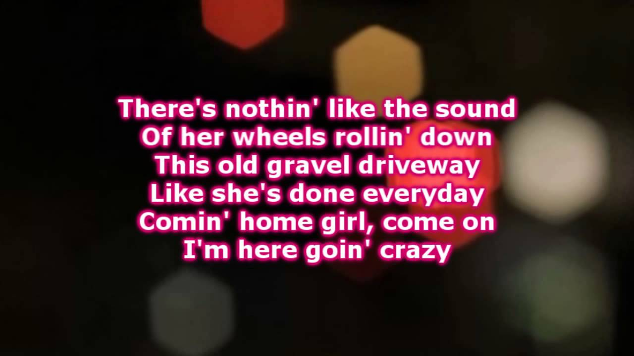David Nail - Countin\' Cars (Lyrics) - YouTube