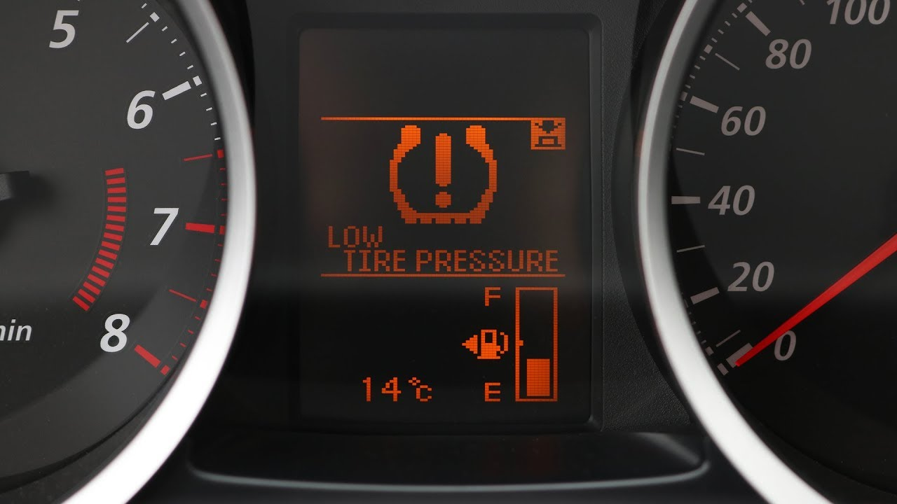 Low Tire Pressure >> Mitsubishi Lancer Reset The Low Tire Pressure Warning Youtube