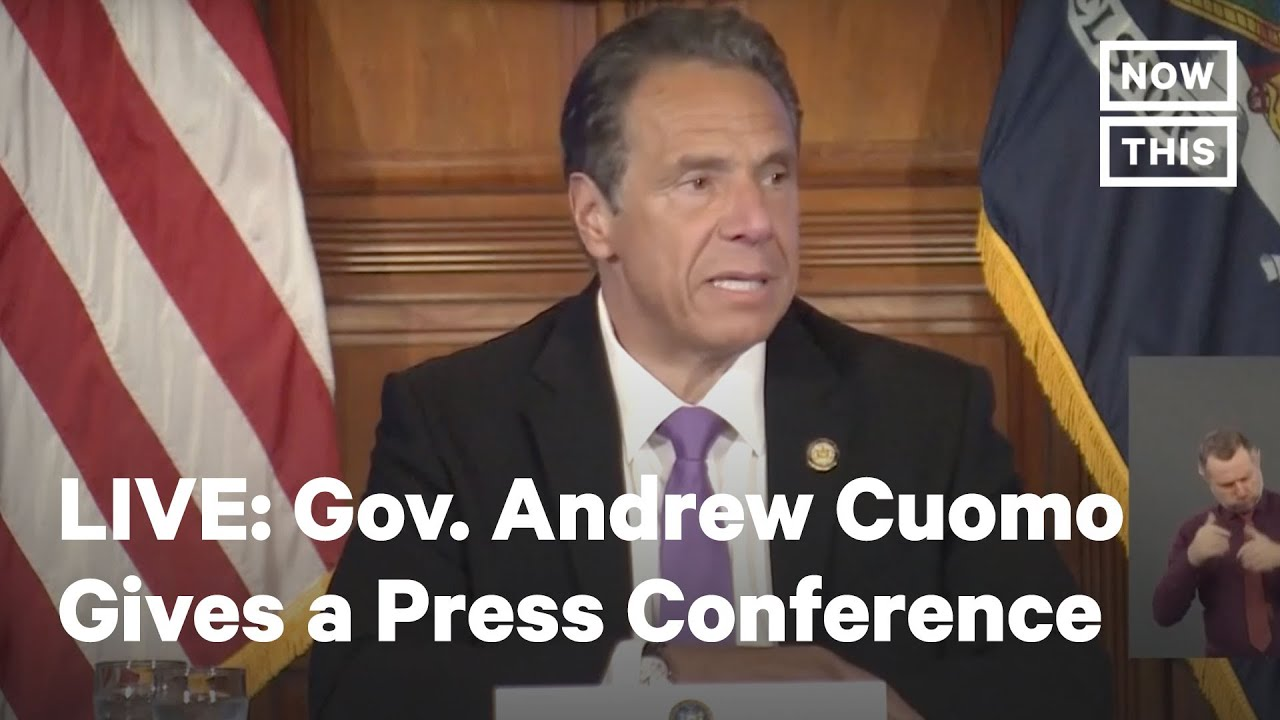 Ny Gov Andrew Cuomo Holds A Press Conference Live Nowthis Youtube