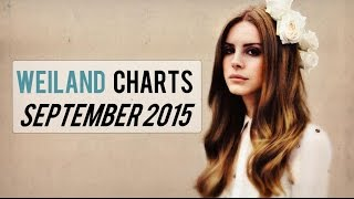 Top 30 Songs September 2015 - Weiland Single Charts - (12/9/2015)