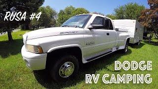 Дом на колёсах для путешествий в США RV Camping. RUSA #4(Трак Dodge RAM 3500 и дом на колёсах для путешествий в США. Такие путешествия тут называют – RV Camping. Очень популярн..., 2016-02-11T09:51:07.000Z)